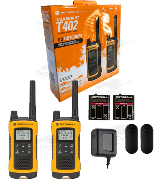 Motorola Talkabout T480 FRS//GMRS Two-Way Radio 2-PACK