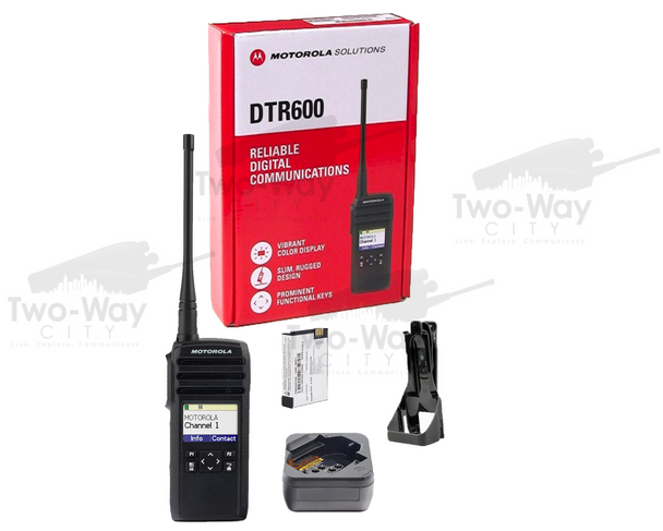 Motorola DTR600 Digital Two-Way Radio