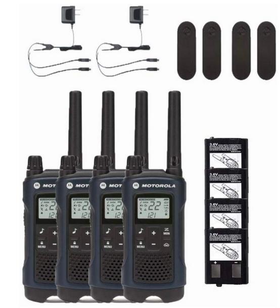 Motorola T460 Two-Way Radio 4-Pack