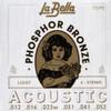 La Bella Phosphor Bronze Acoustic Guitar Strings Ireland