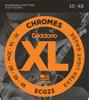 Daddario ECG23 Chromes Electric Guitar Strings