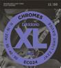Daddario ECG24 Chromes Electric Guitar Strings