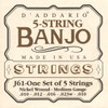 D'addario J61 Nickel Wound Banjo Strings