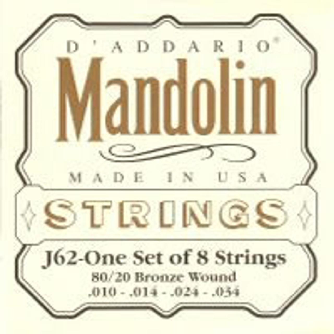 daddario D'addario J62 Mandolin Strings