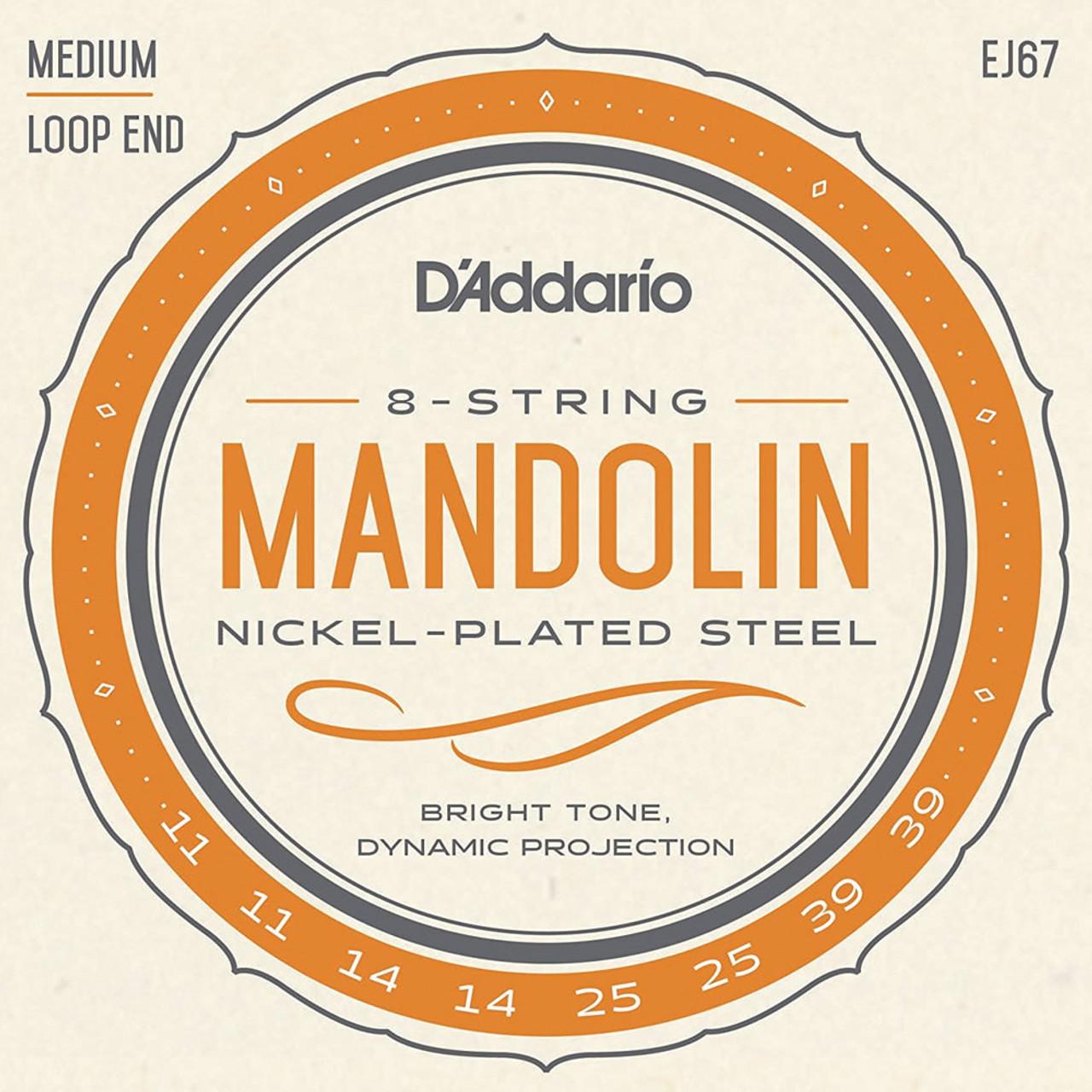 D'addario J67 Nickel Wound Mandolin Strings Ireland
