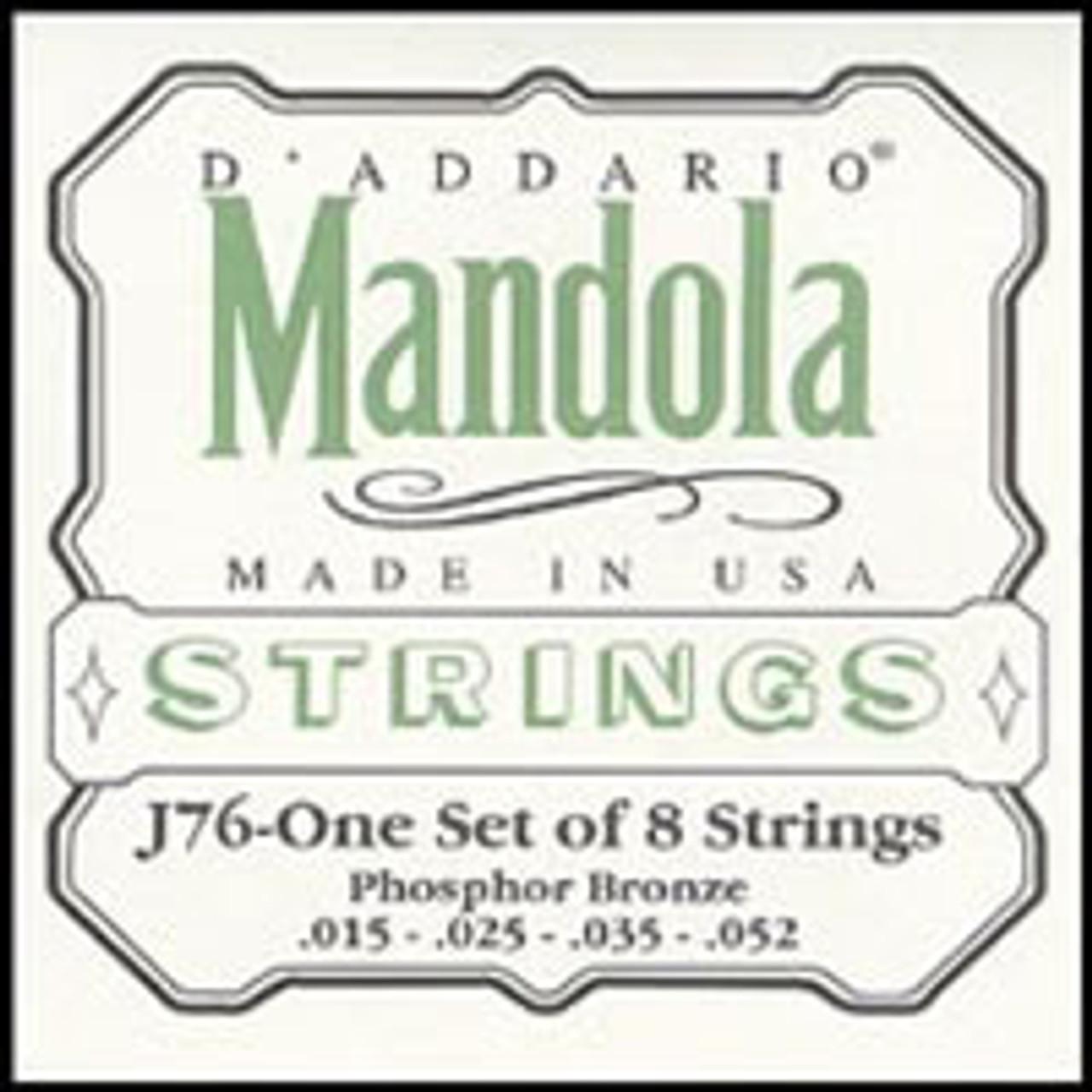 D'addario J76 Mandolin Strings (15-52)
