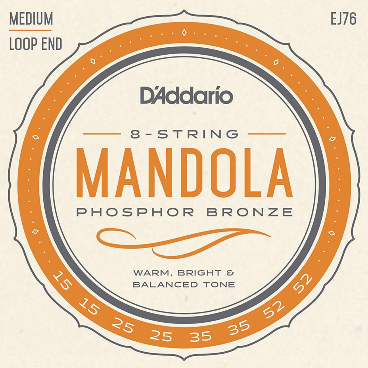 D'addario EJ76 Mandolin Strings Ireland