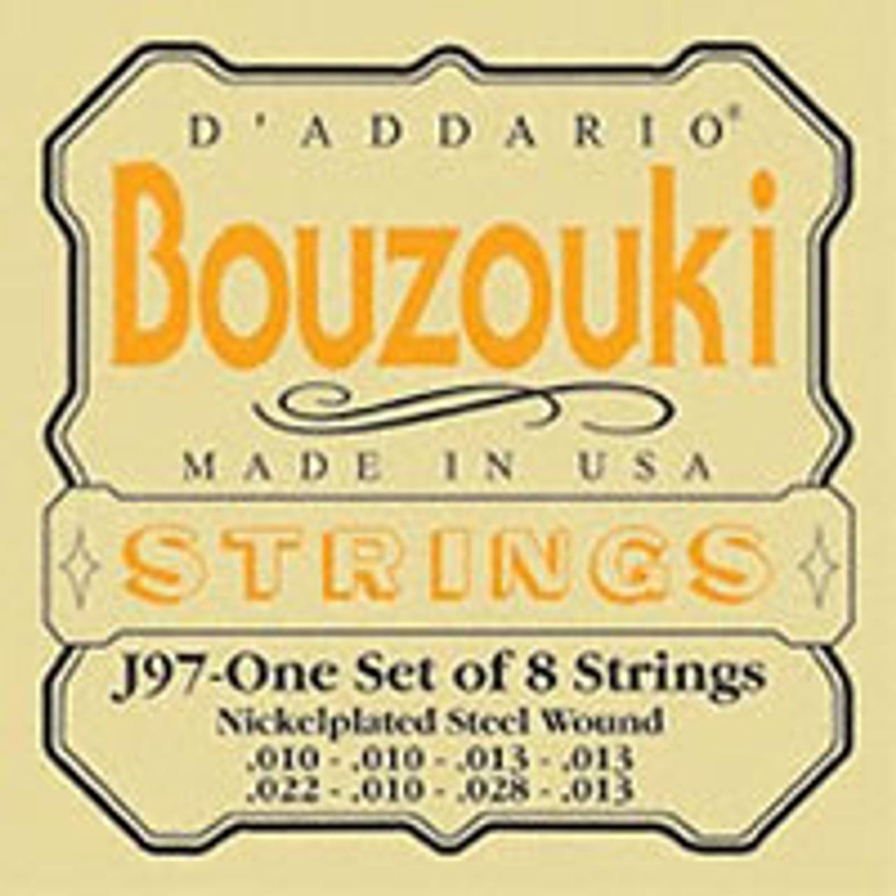 D'addario J97 Nickel Strings for Bouzouki