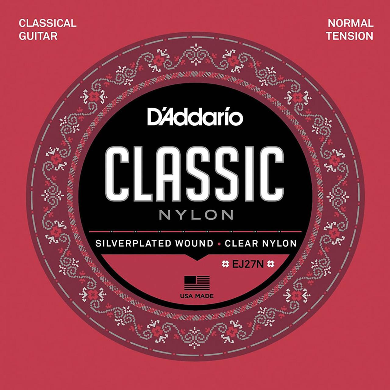 D'addario EJ27N Nylon classical guitar Strings ireland