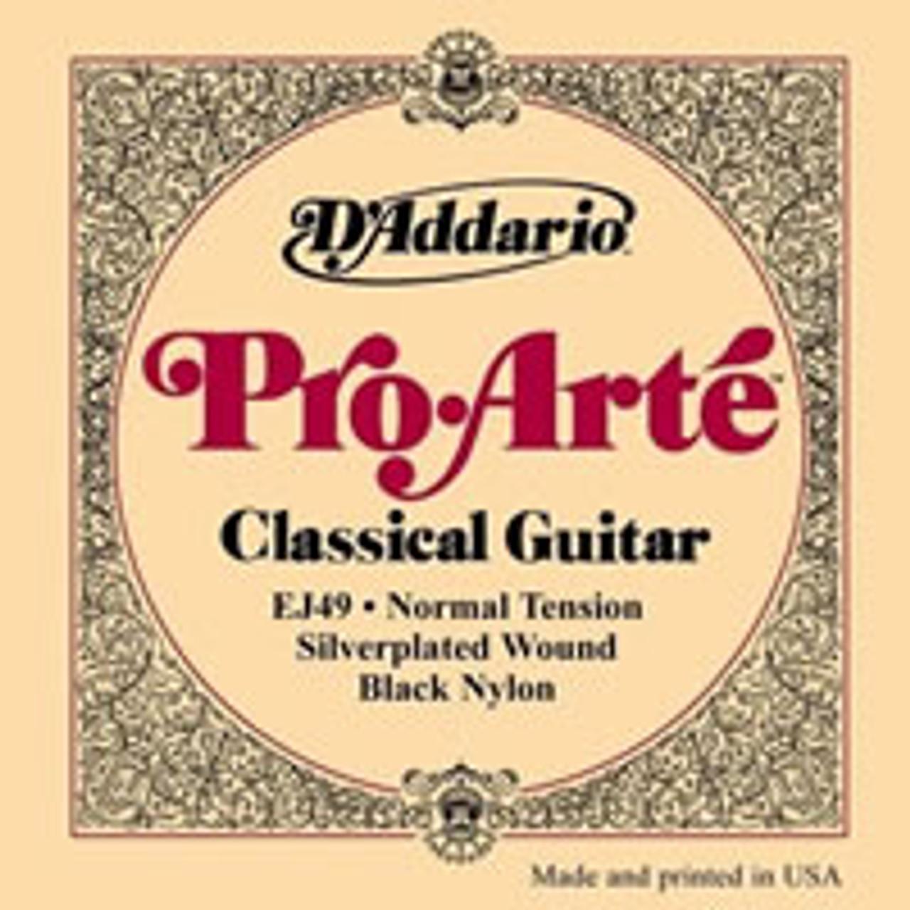 D'addario EJ49 Pro Arte Black Nylon Strings