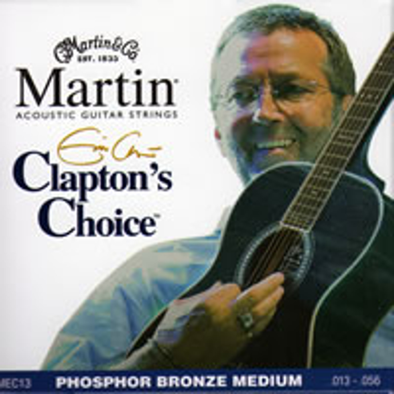 Martin Eric Clapton's Choice Strings Acoustic Guitar