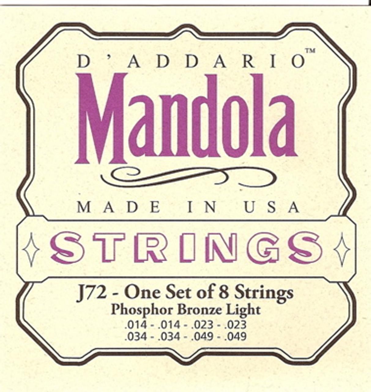 D'addario EJ72 Mandola Strings 14-49