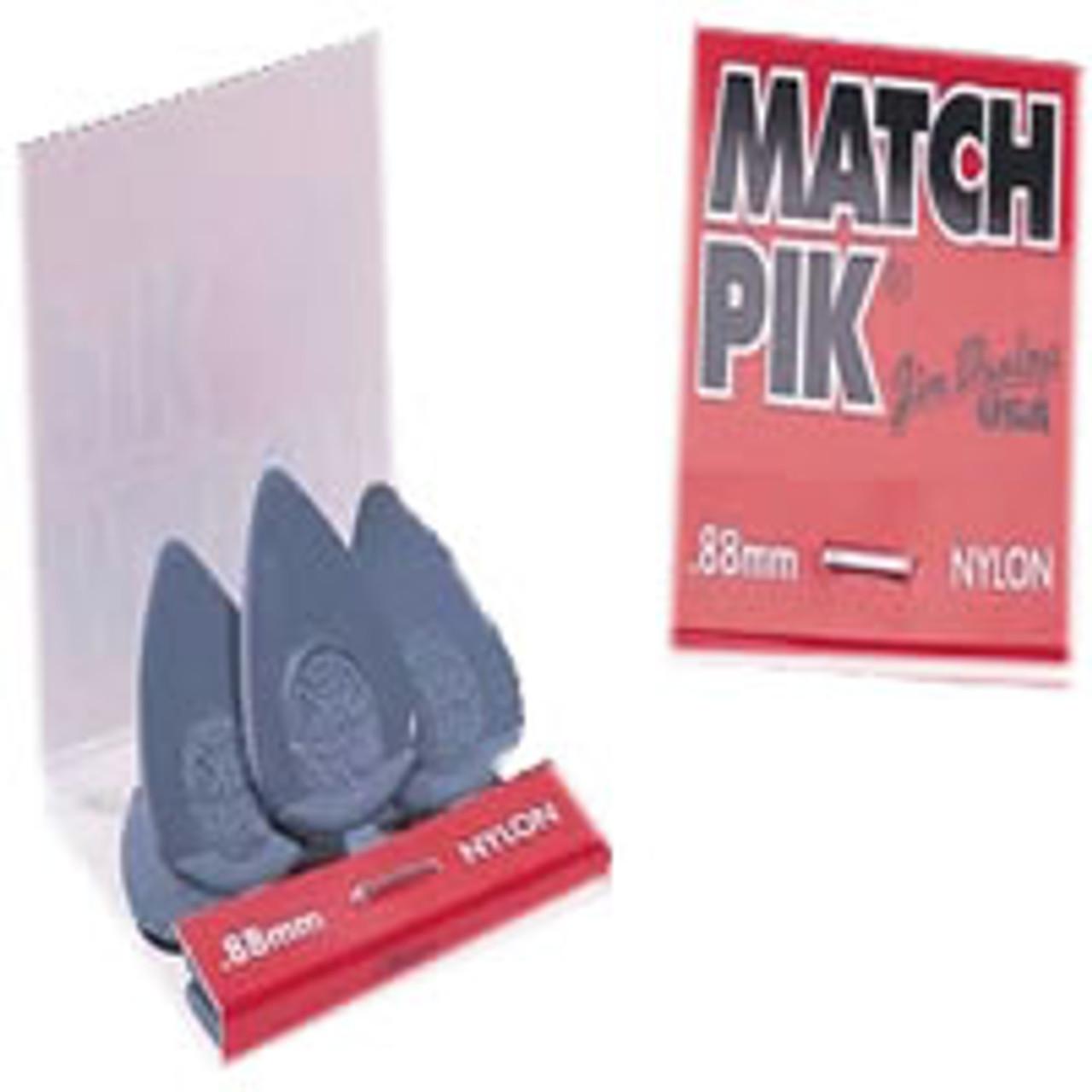 Dunlop Match Pik 6 Nylon Plectrums