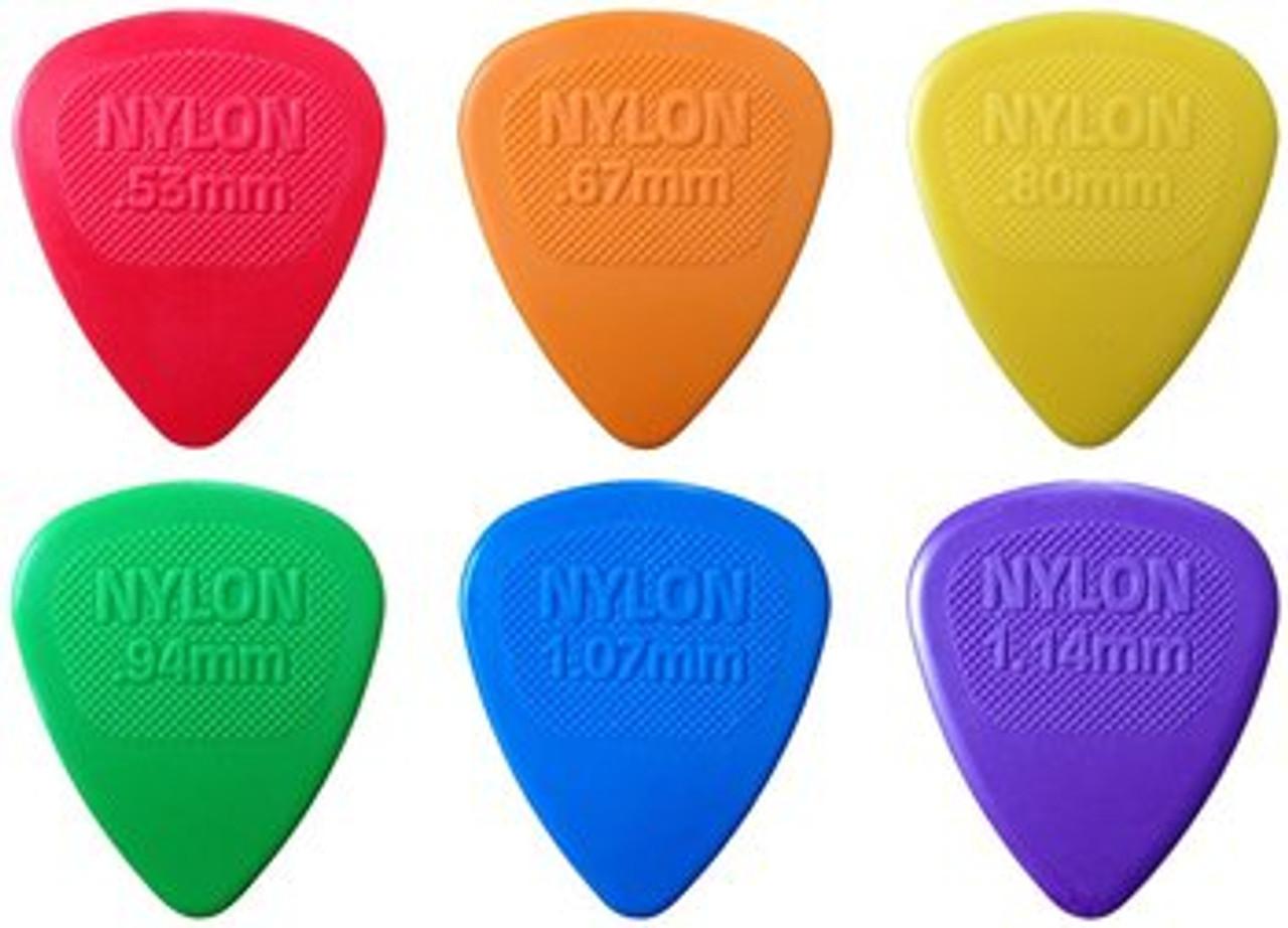 Dunlop Midi Nylon Plectrums Ireland