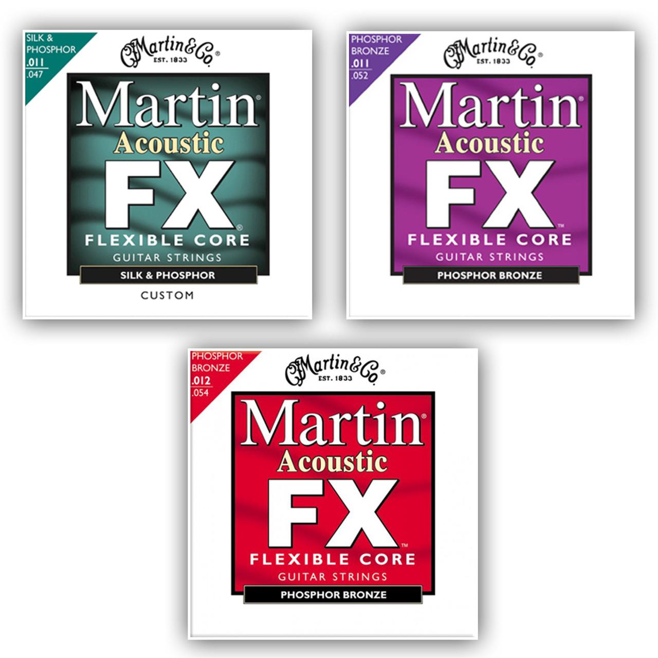 Martin FX Phosphor Bronze Acoustic Guitar Strings
