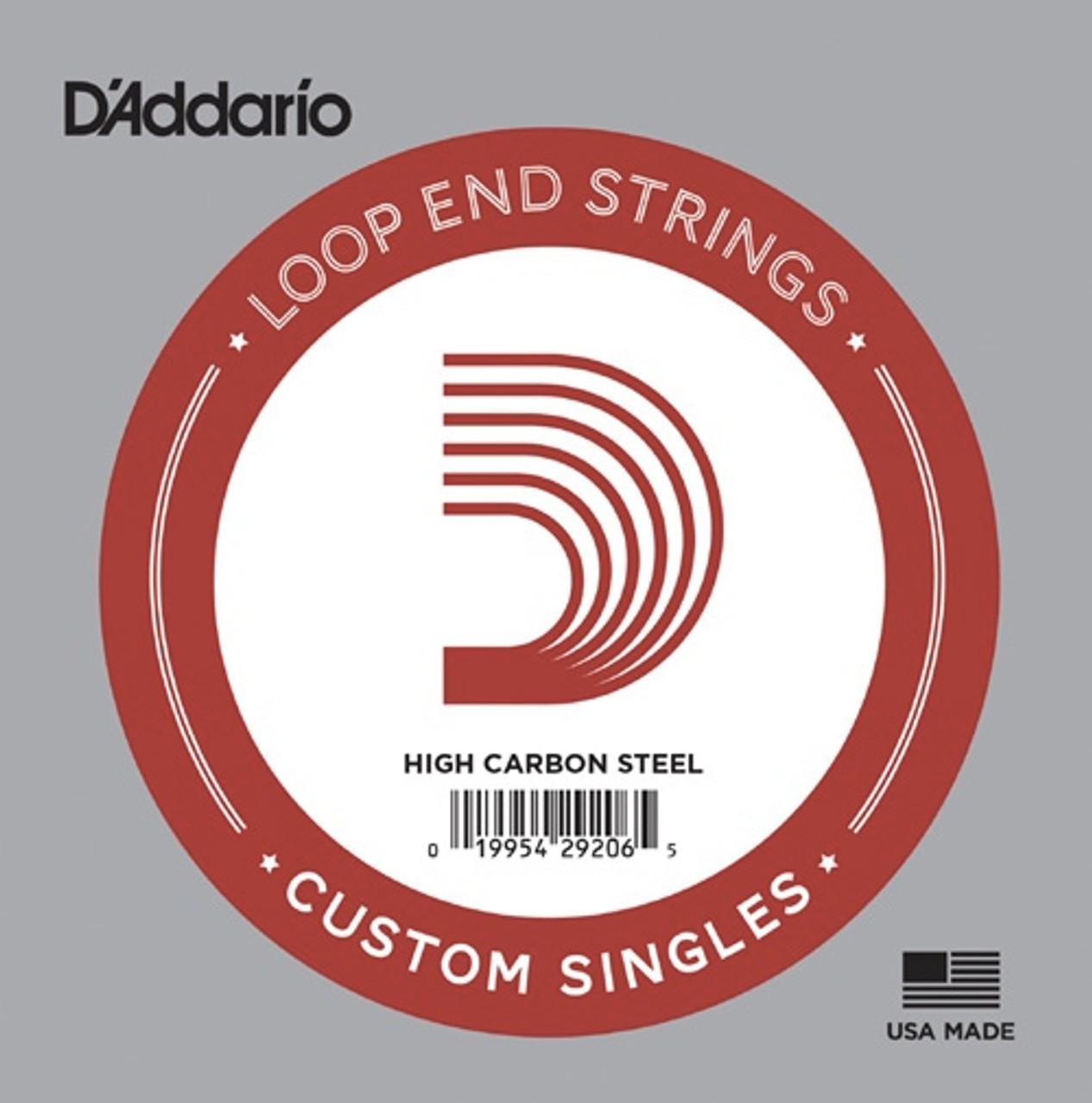 D'Addario Plain Loop End Single Strings