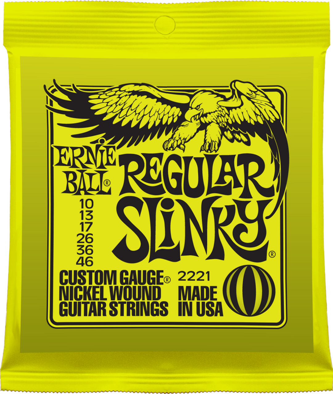 Ernie Ball 2221 Slinky Electric Guitar Strings