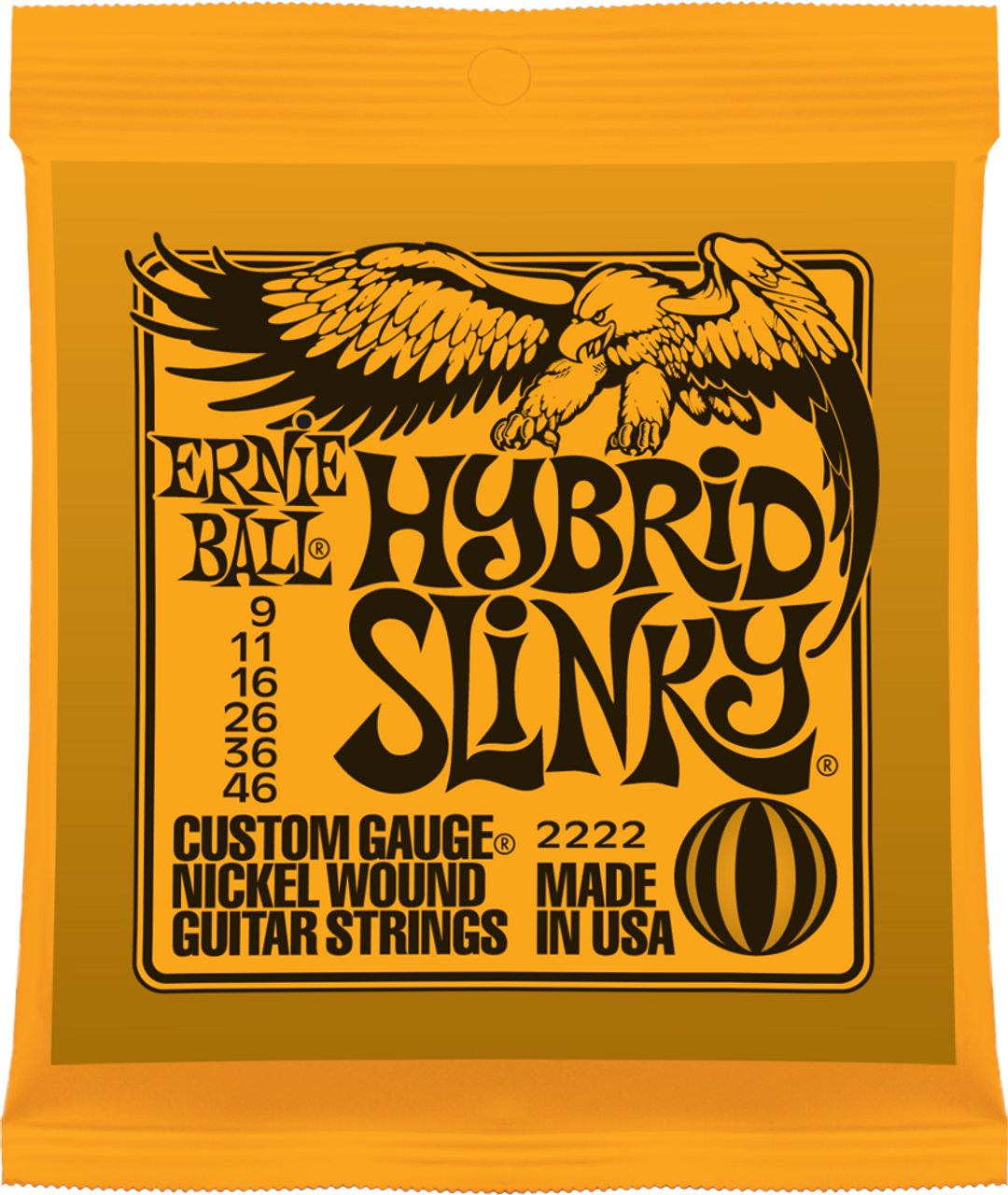 Ernie Ball 2222 Slinky Electric Guitar Strings