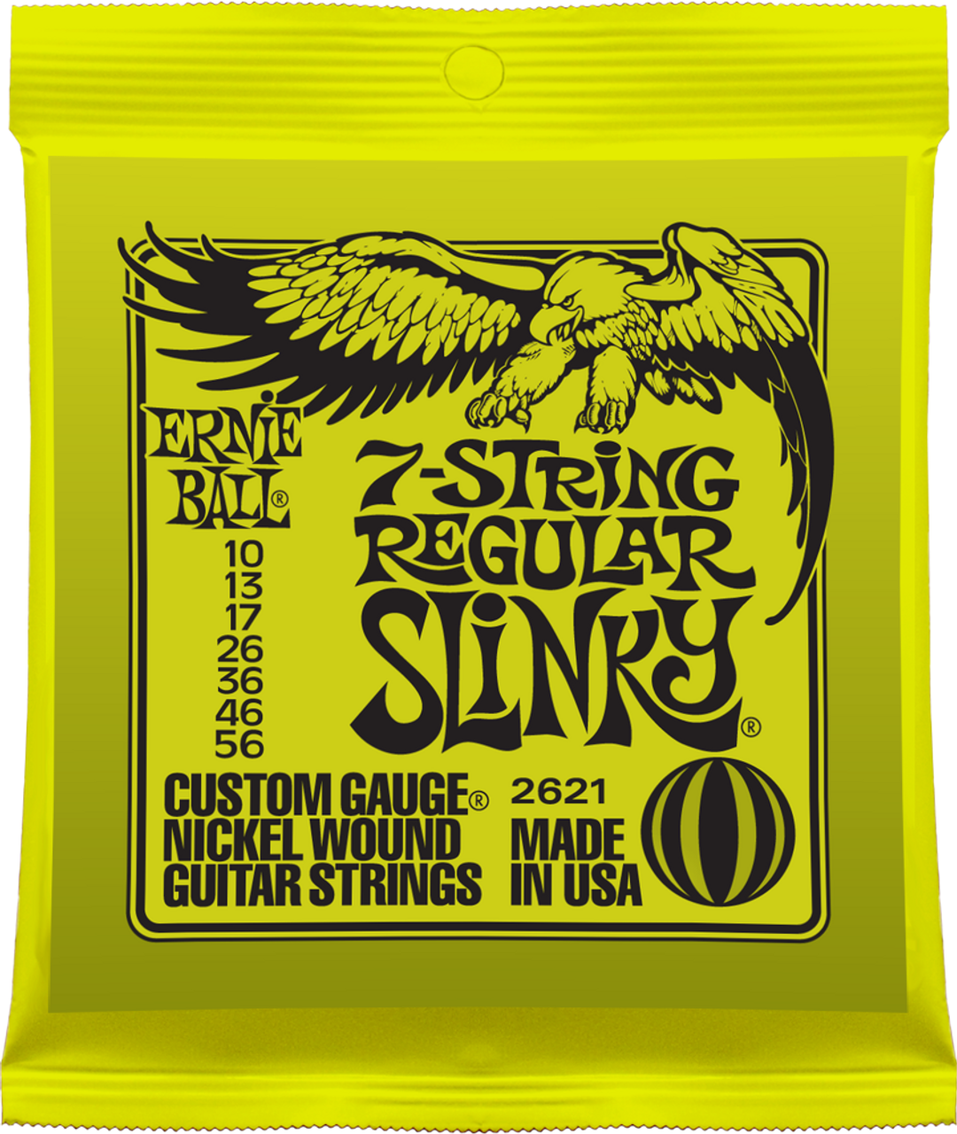 Ernie Ball 2621 Slinky Electric Guitar Strings