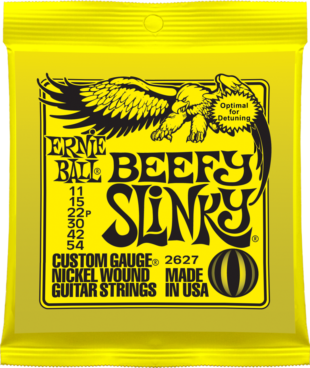 Ernie Ball 2627 Slinky Electric Guitar Strings