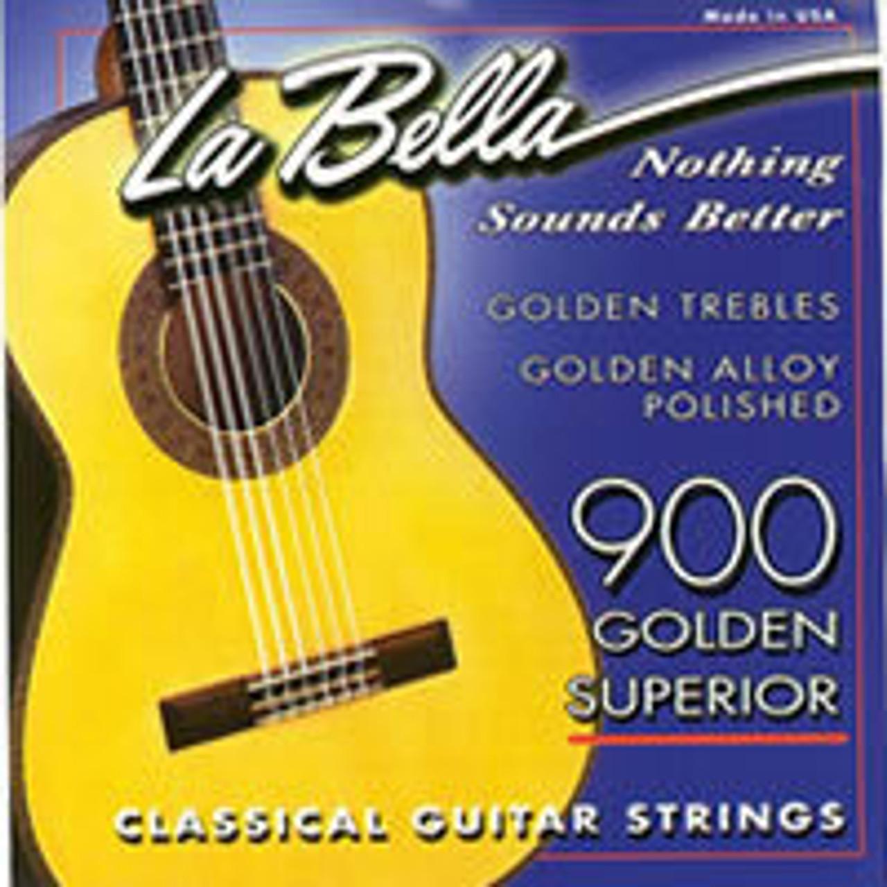 La Bella Golden Superior Classical Guitar Strings