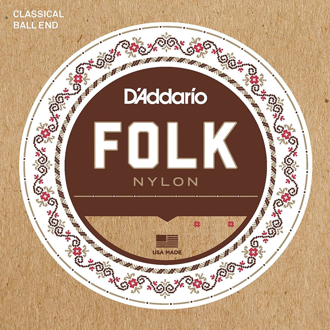 D'addario Folk Nylon Ball End Guitar Strings Ireland