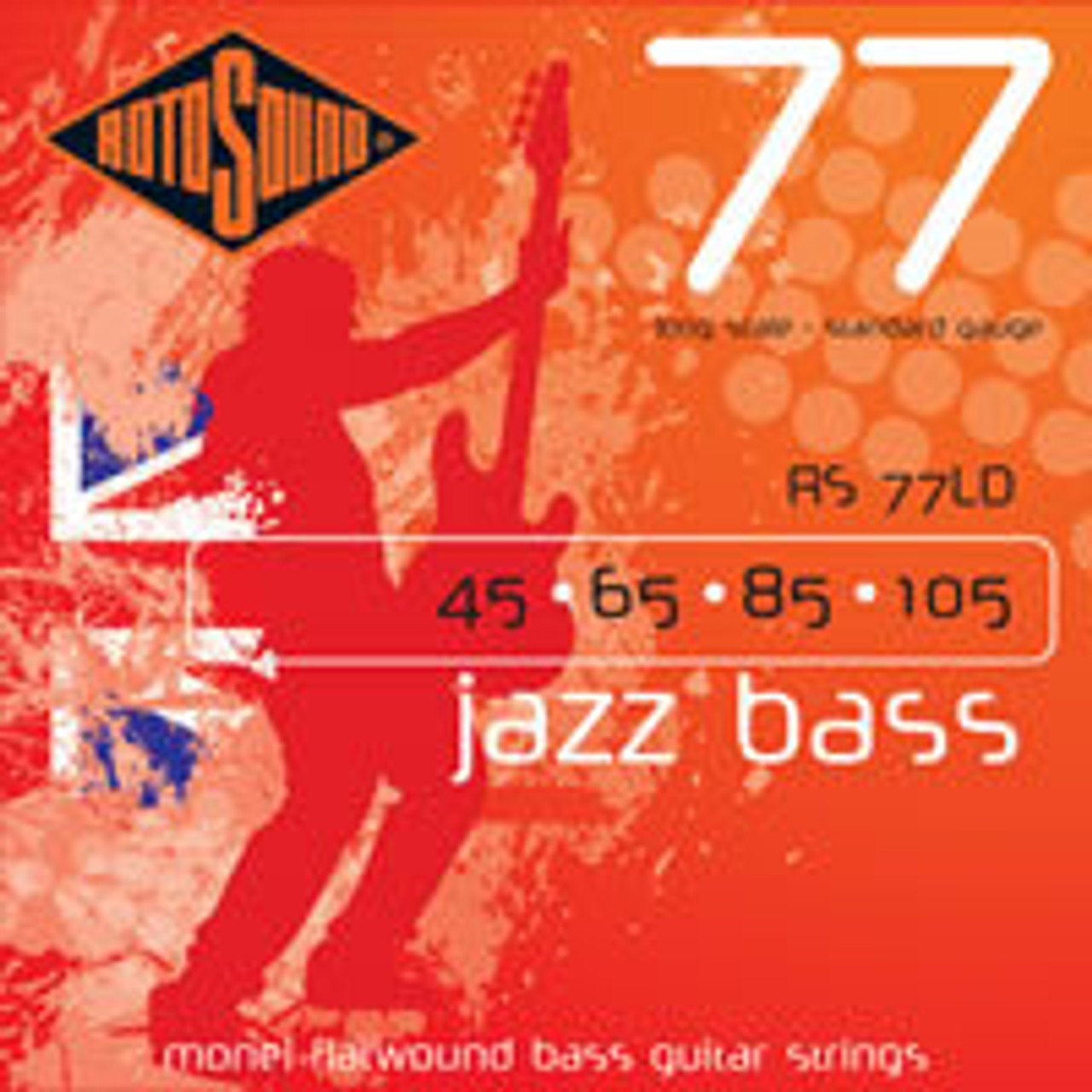 Rotosound 77 Jazz Bass Guitar Strings from superstrings.com