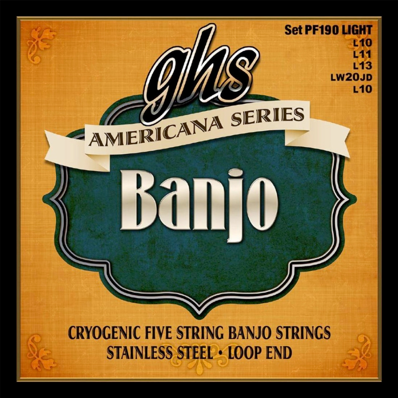 GHS Americana Banjo Strings Ireland