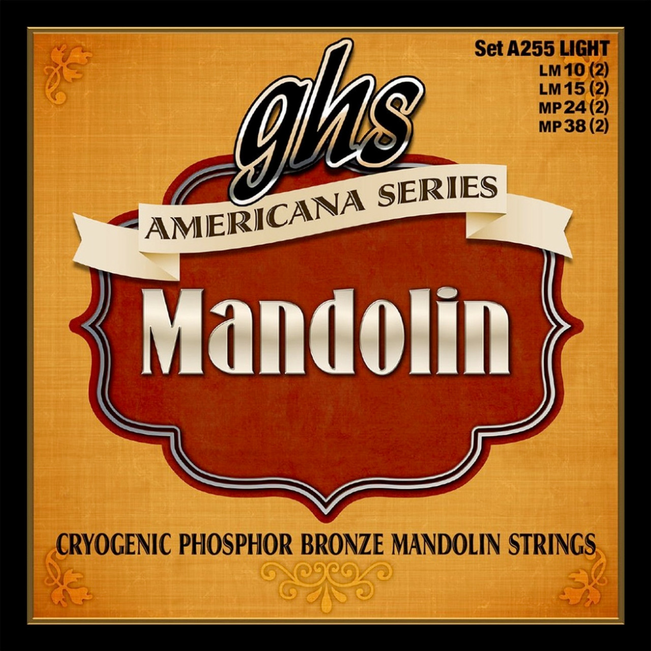 GHS Americana Mandolin Strings Ireland