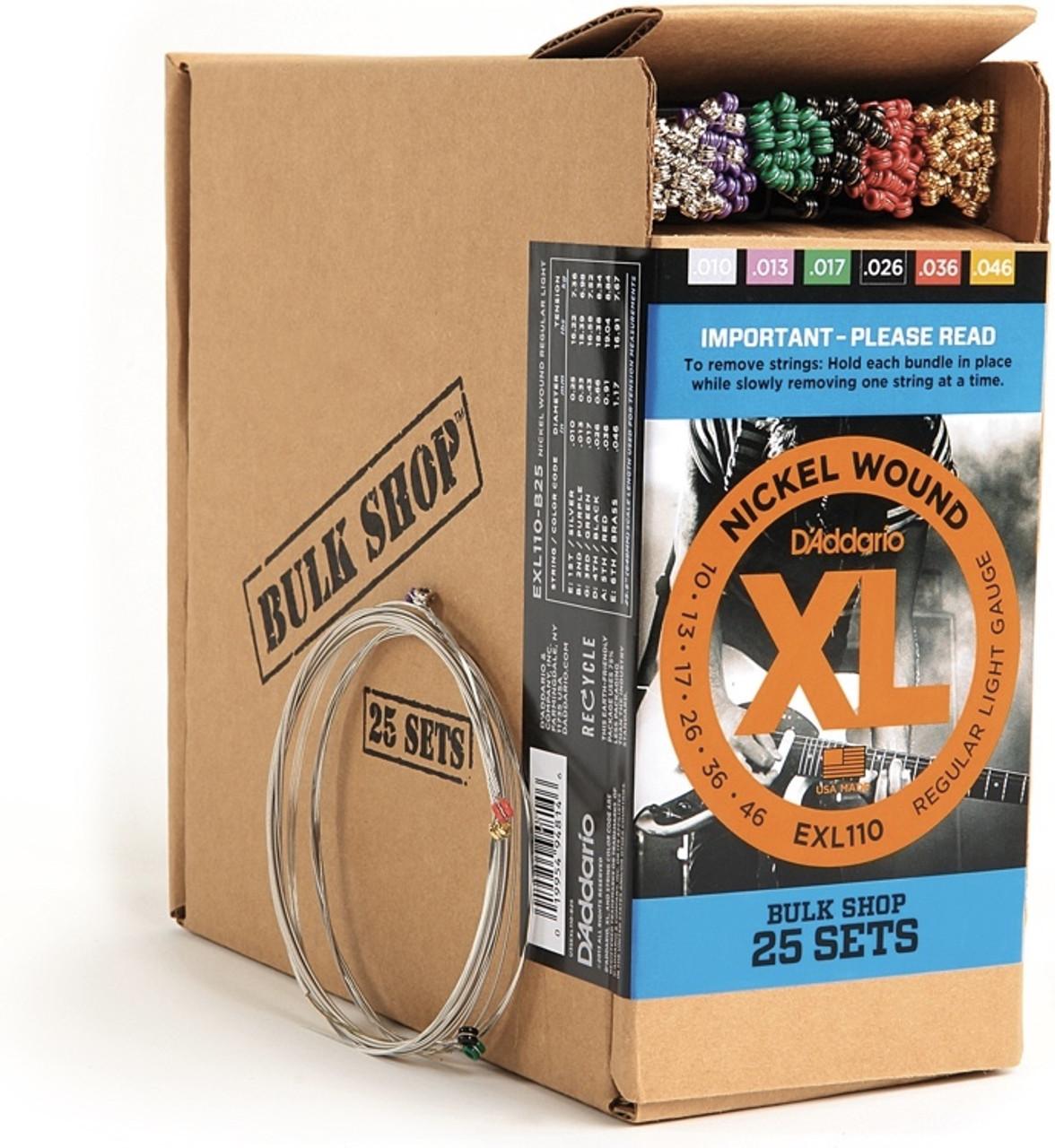 D'addario XL Bulk Shop 25 Sets Ireland