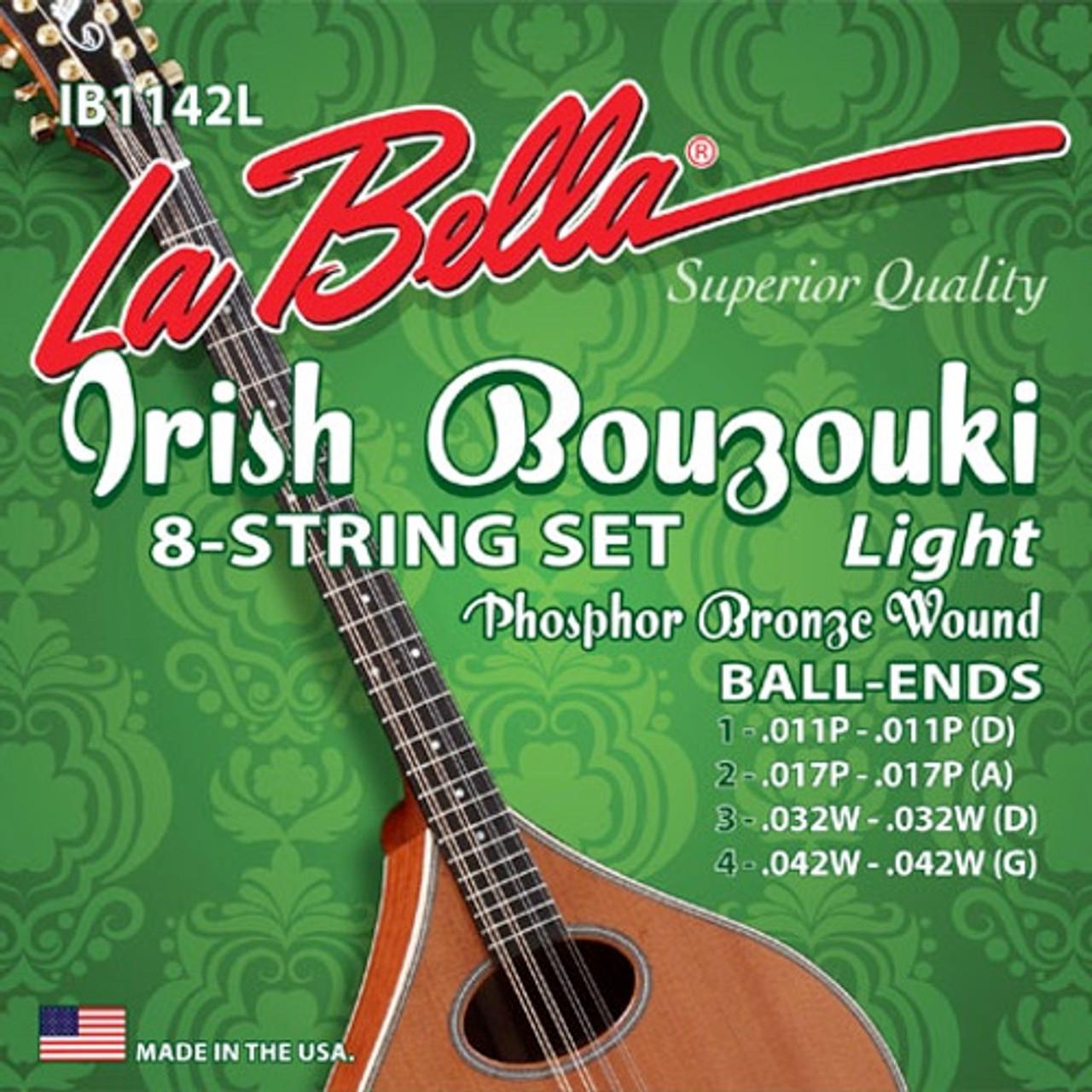 La Bella Irish Bouzouki Strings Ireland
