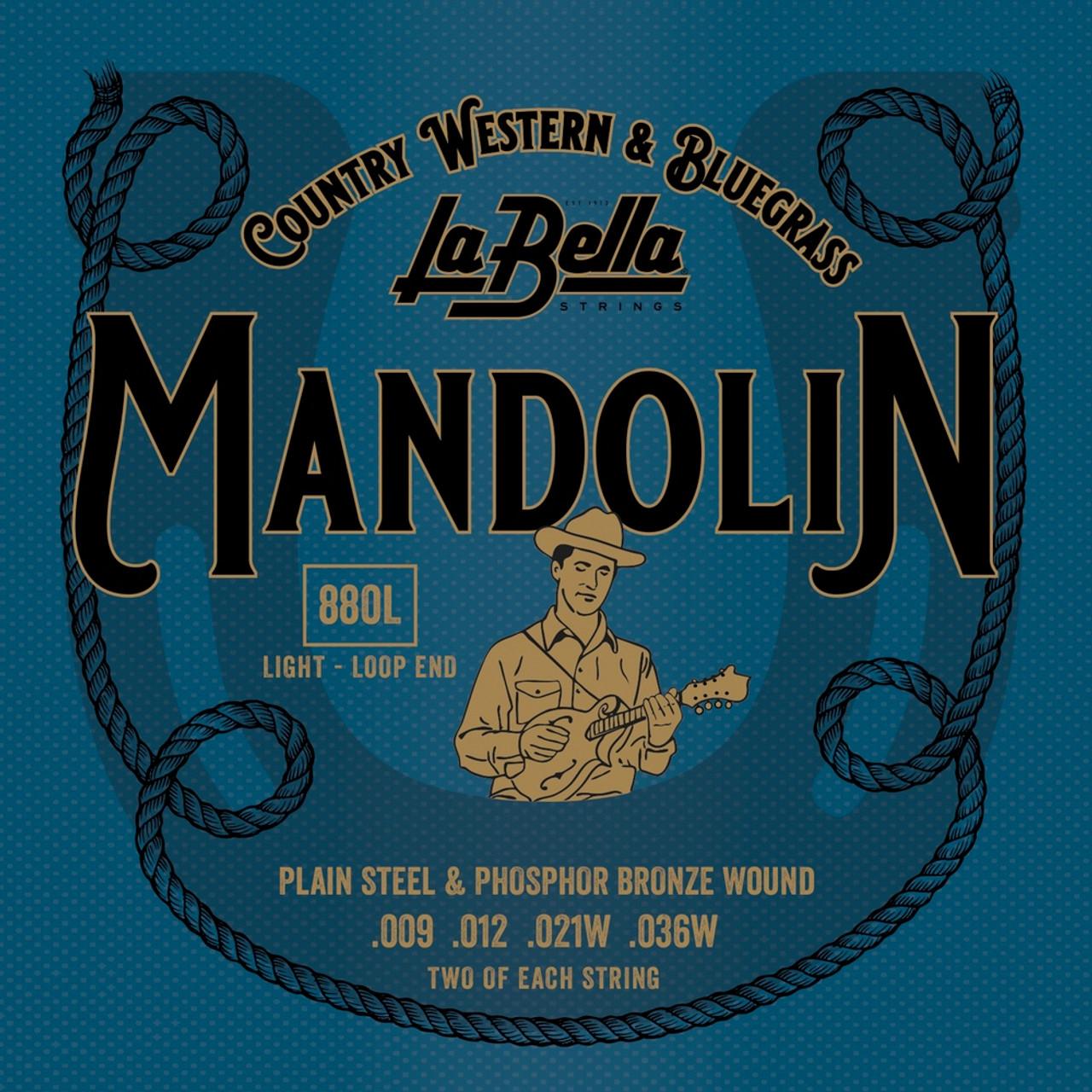 La Bella Phosphor Bronze Mandolin Strings Ireland