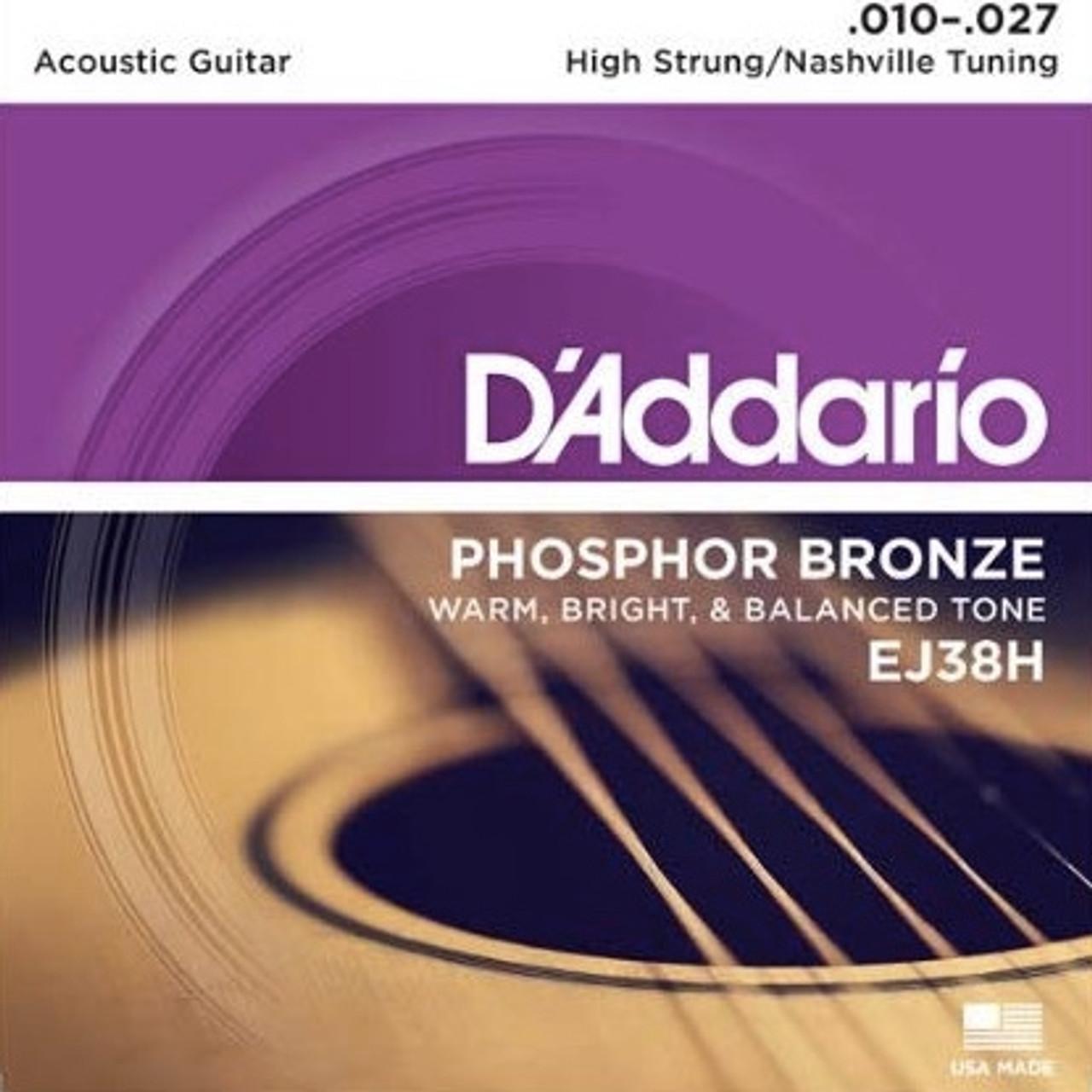 D'addario EJ38H Nashville Tuning Strings Ireland