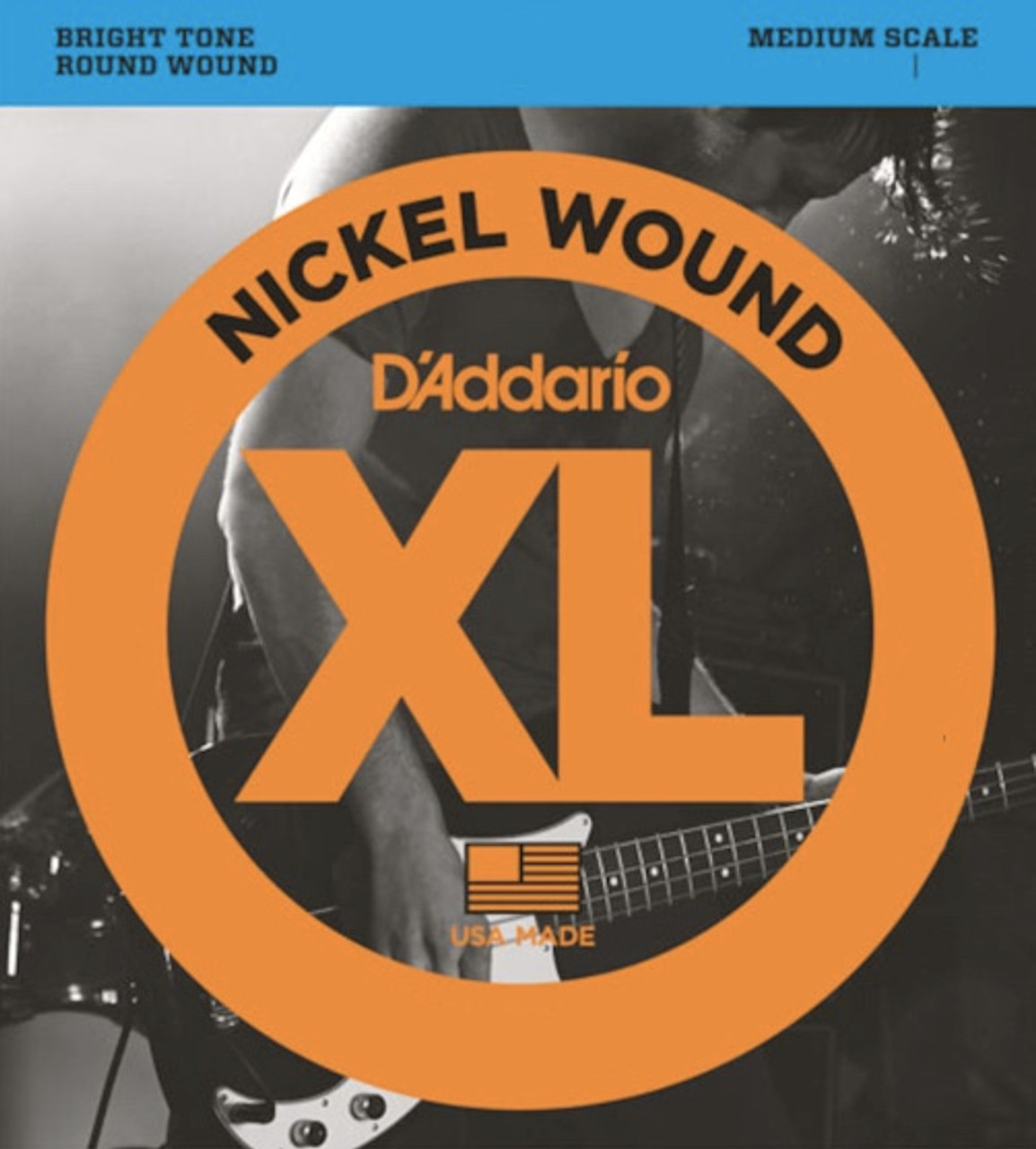 D'addario Medium Scale Bass Strings Ireland