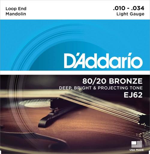 D'addario EJ62 Mandolin Strings