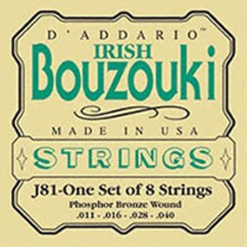 D'addario J81 Irish Bouzouki Strings