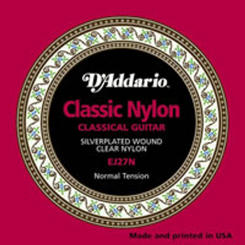 D'addario EJ27N Nylon Strings
