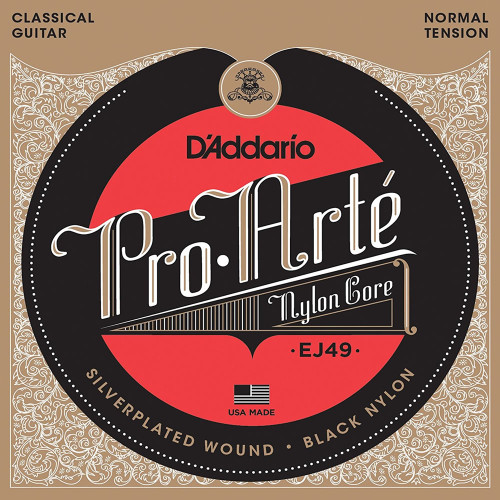 D'addario EJ49 Pro Arte Black Nylon Strings Ireland