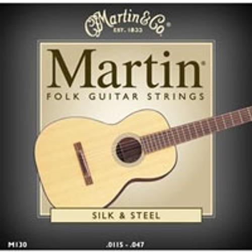 Martin M130 Silk & Steel Folk Guitar Strings