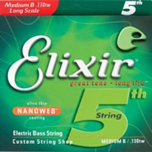 Elixir 130TW Medium Bass Guitar B String (130)