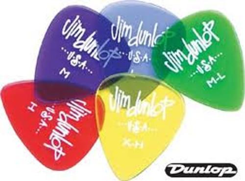 Dunlop Gels Plectrums