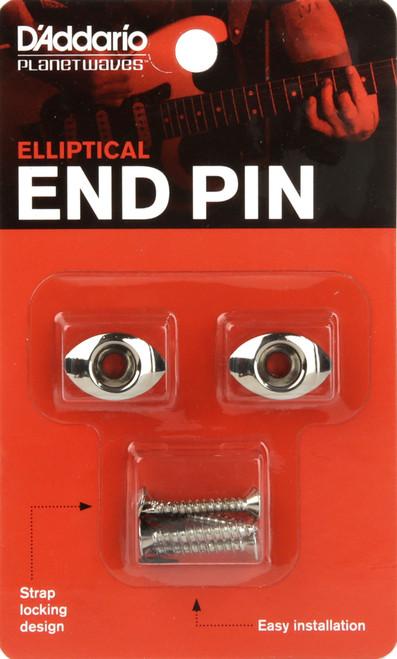 Planet Waves Chrome Elliptical End Pins