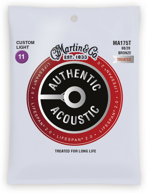 Martin Authentic Lifespan Bronze Strings