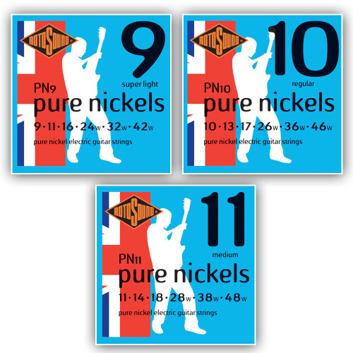 Rotosound Pure Nickel Electric Guitar Strings