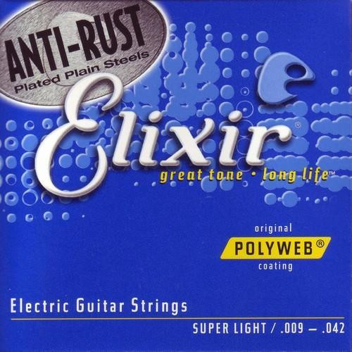 Elixir Polyweb Electric Guitar Strings