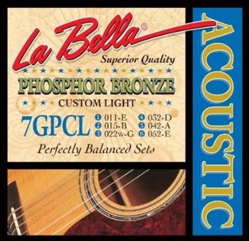 La Bella Phosphor Bronze Acoustic Guitar Strings