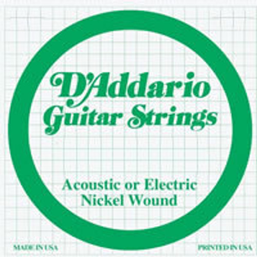 D'addario Nickel Wound Ball End Strings