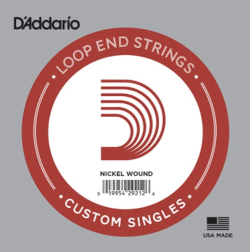 D'Addario Nickel Wound Loop End Single Strings Ireland