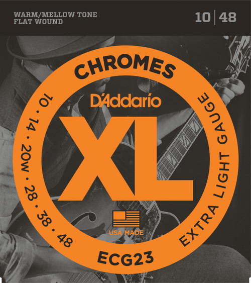 Daddario ECG23 Chromes Electric Guitar Strings