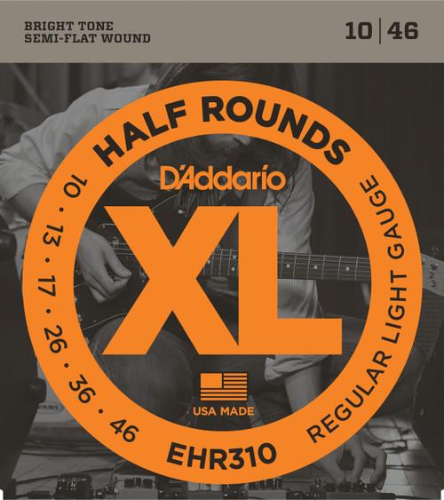 Daddario EHR310 Half Rounds Electric Guitar Strings